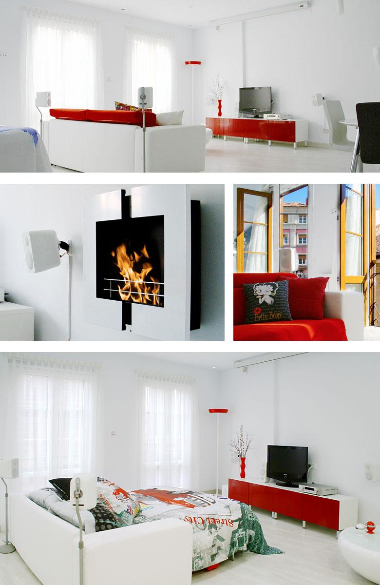 El Encanto de Avilés apartamento - Salón