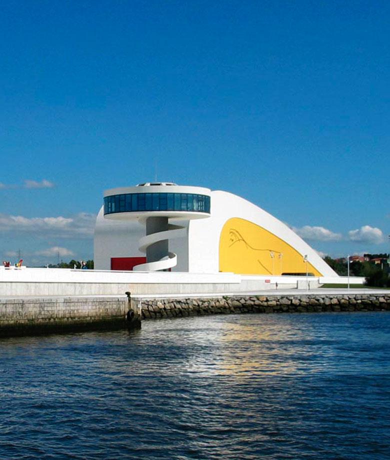 El encanto de Avilés Niemeyer